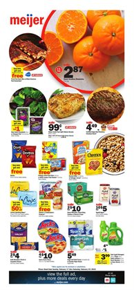 Discount Stores deals in the Meijer weekly ad in Chicago Heights IL