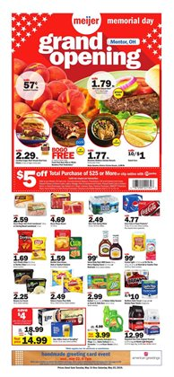 Meijer deals in the Chicago IL weekly ad