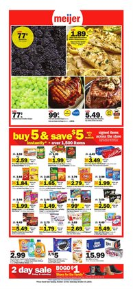 Discount Stores deals in the Meijer weekly ad in Chicago IL