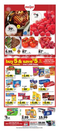 Discount Stores deals in the Meijer weekly ad in Rockford IL