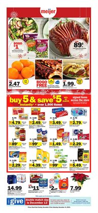 Discount Stores deals in the Meijer weekly ad in Valparaiso IN