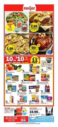 Discount Stores deals in the Meijer weekly ad in Gary IN