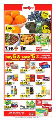 Discount Stores deals in the Meijer weekly ad in Toledo OH