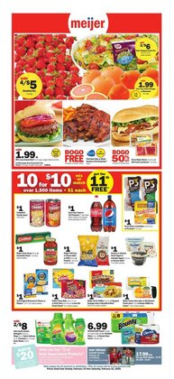 Meijer catalogue ( 2 days left )