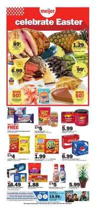 Meijer catalogue ( Published today )