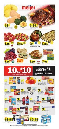 Meijer catalogue ( 3 days ago )