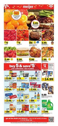 Meijer catalogue ( 4 days left )
