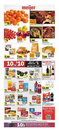 Meijer catalogue ( Expires today )
