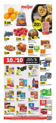 Discount Stores offers in the Meijer catalogue in Chicago IL ( Expires today )