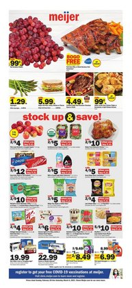 Discount Stores offers in the Meijer catalogue in Cicero IL ( 2 days ago )