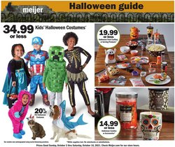 Meijer deals in the Meijer catalog ( Expires today)