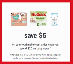Meijer coupon in Pearland TX ( 3 days left )
