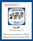 Meijer coupon in Detroit MI ( 1 day ago )