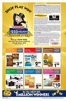 Safeway deals in the Modesto CA weekly ad