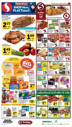 Safeway deals in the Portland OR weekly ad