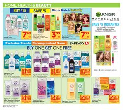Shampoo deals in the Safeway weekly ad in Modesto CA
