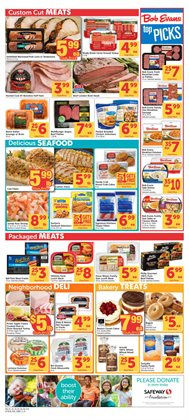 Potatoes deals in the Safeway weekly ad in Federal Way WA