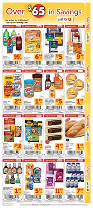 Pizza deals in the Safeway weekly ad in Modesto CA