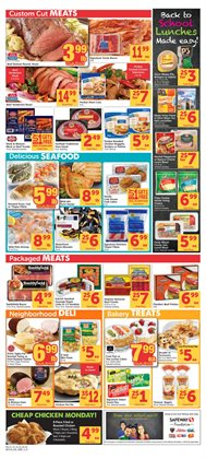 Safeway deals in the Spokane WA weekly ad
