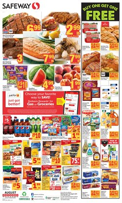 Safeway deals in the Davis CA weekly ad