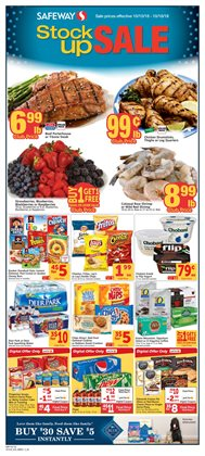 Water deals in the Safeway weekly ad in San Jose CA