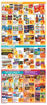 Halloween deals in the Safeway weekly ad in Olympia WA