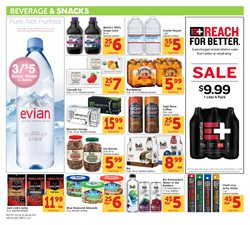 Water deals in the Safeway weekly ad in Concord CA