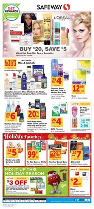 Yoga deals in the Safeway weekly ad in Watsonville CA