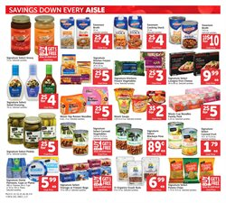 Salad deals in the Safeway weekly ad in San Francisco CA