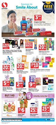 Baby wipes deals in the Safeway weekly ad in Olympia WA
