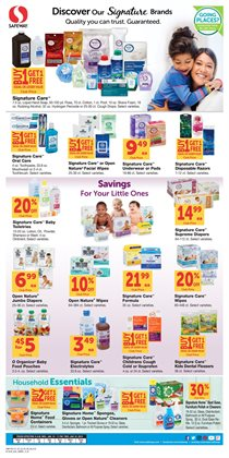 Furniture deals in the Safeway weekly ad in Redding CA