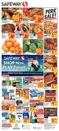 Grocery & Drug deals in the Safeway weekly ad in Bellevue WA