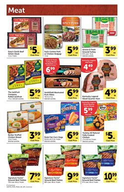 Chicken deals in the Safeway weekly ad in Redding CA