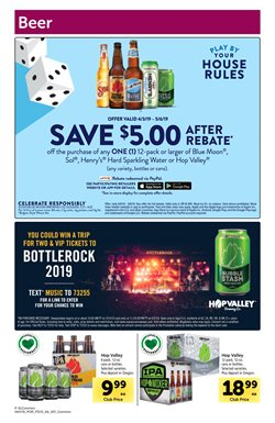 Beer deals in the Safeway weekly ad in Federal Way WA