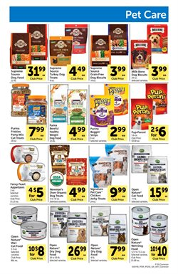 Purina deals in the Safeway weekly ad in Concord CA