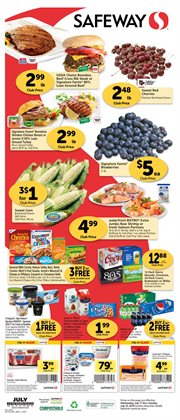 Safeway deals in the Bellingham WA weekly ad