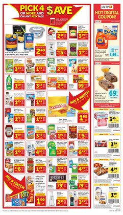 Safeway deals in the Dublin CA weekly ad