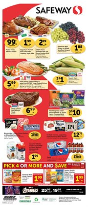 Safeway deals in the San Jose CA weekly ad