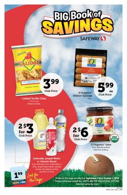 Safeway deals in the San Francisco CA weekly ad