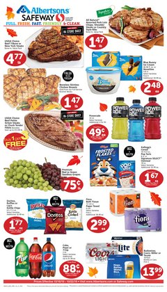 Safeway deals in the Mesa AZ weekly ad