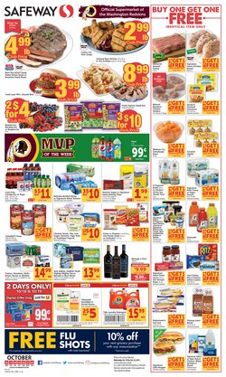 Safeway deals in the Stafford VA weekly ad