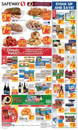 Safeway deals in the Washington-DC weekly ad