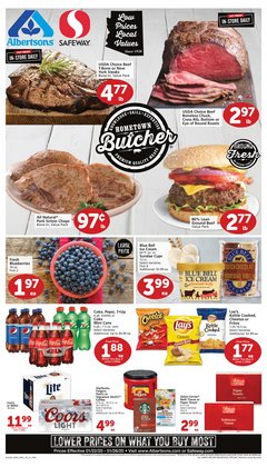 Safeway deals in the Tucson AZ weekly ad