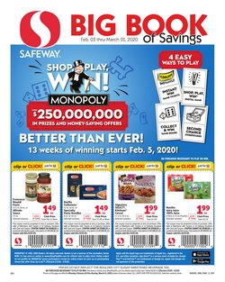 Grocery & Drug offers in the Safeway catalogue in Rapid City SD ( 8 days left )