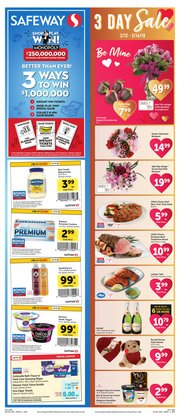 Grocery & Drug offers in the Safeway catalogue in San Francisco CA ( Expires today )