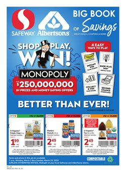 Grocery & Drug offers in the Safeway catalogue in Yakima WA ( 2 days left )
