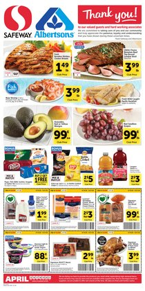 Grocery & Drug offers in the Safeway catalogue in Grants Pass OR ( 1 day ago )