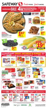 Grocery & Drug offers in the Safeway catalogue in Colorado Springs CO ( Expires tomorrow )
