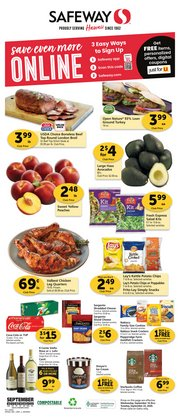 Grocery & Drug offers in the Safeway catalogue in Milpitas CA ( 3 days ago )