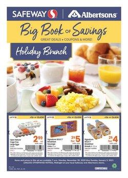 Safeway catalogue ( More than a month )